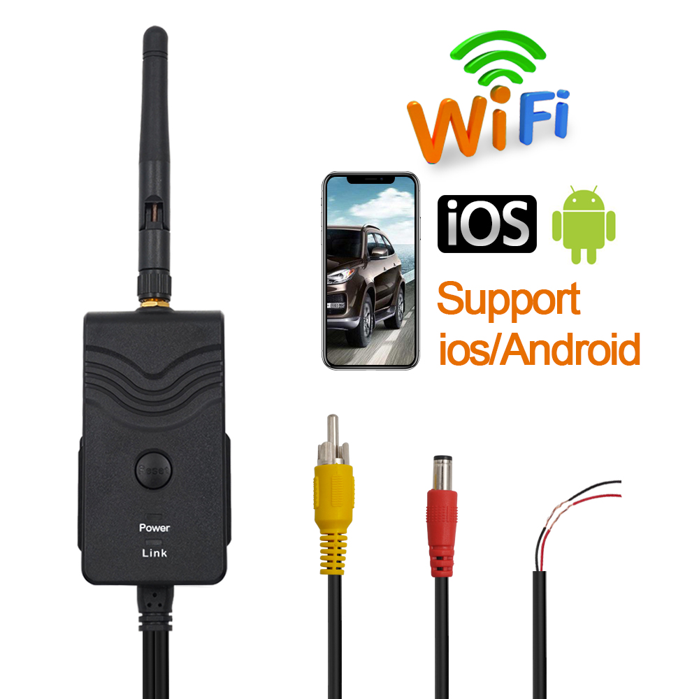 Details about DC Video Wireless Wifi Transmitter 903W P2P For Backup Camera  For iPhone Android