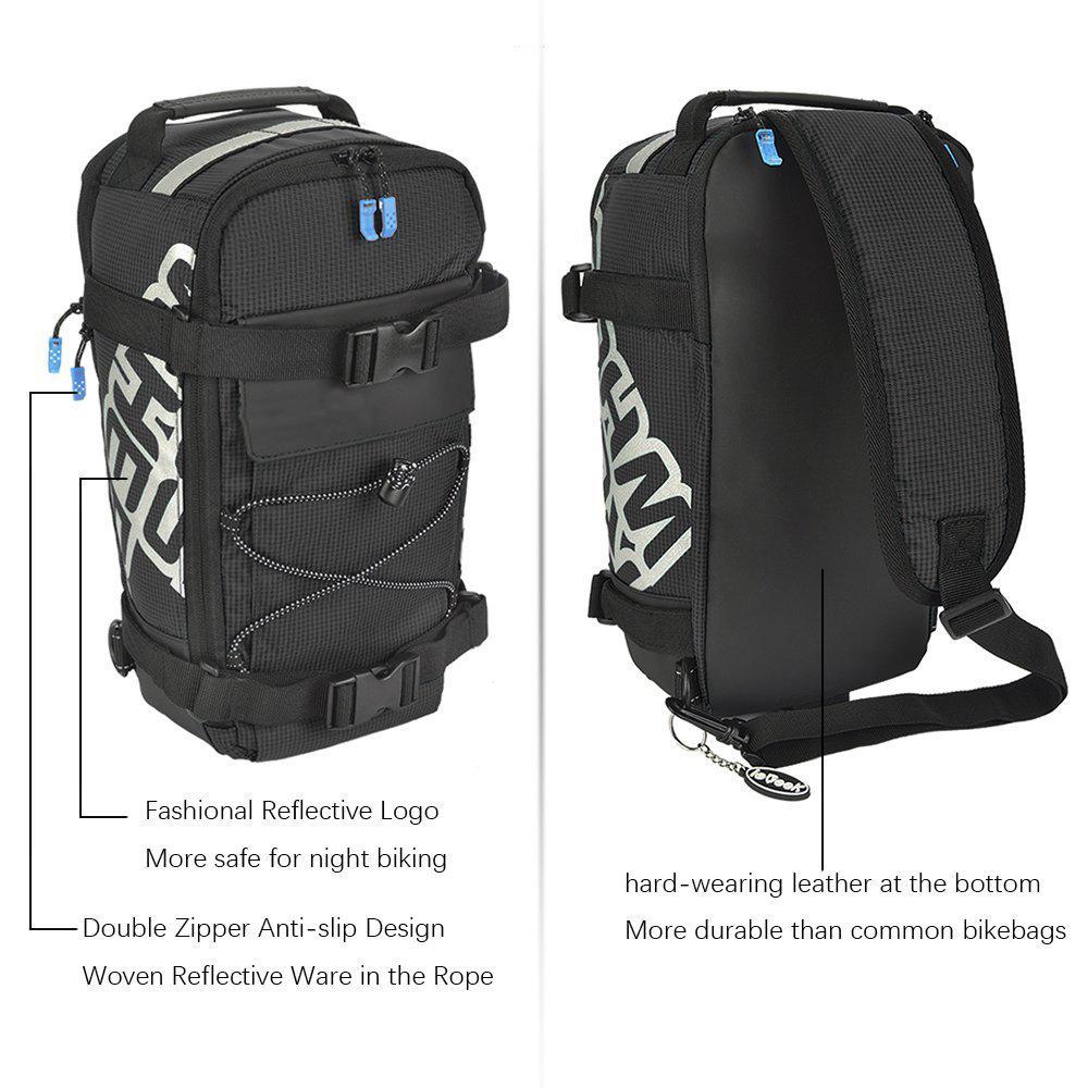 2 in1 fahrradtasche gep cktr gertasche radtasche sport rucksack wasserdicht 5l ebay. Black Bedroom Furniture Sets. Home Design Ideas