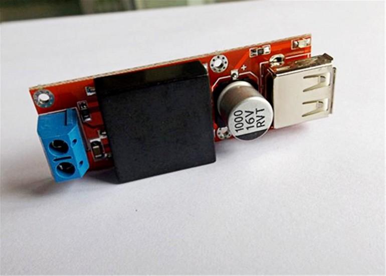 1//2//5//10PCS KIS3R33S DC 7V-24V to 5V 3A Buck USB Step Down Module  For Arduino