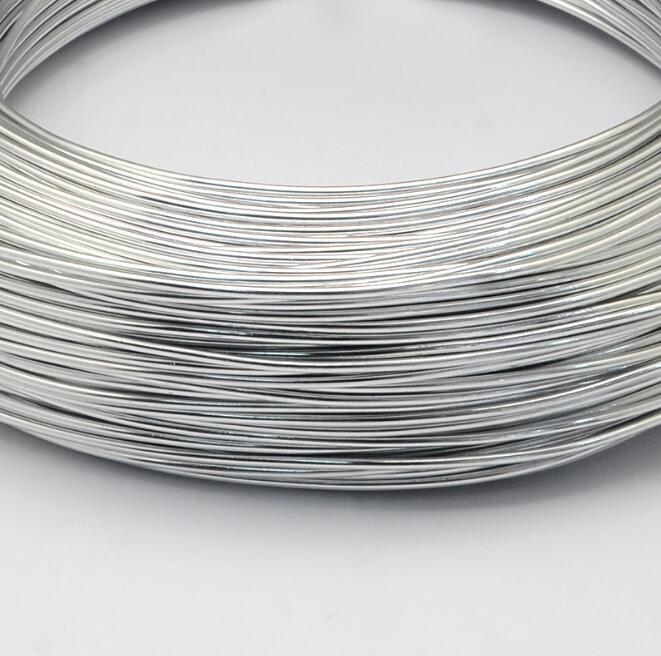 Aluminum Wire Bendable Metal Craft Wire for DIY Black 2.0mm(32.8 feet)