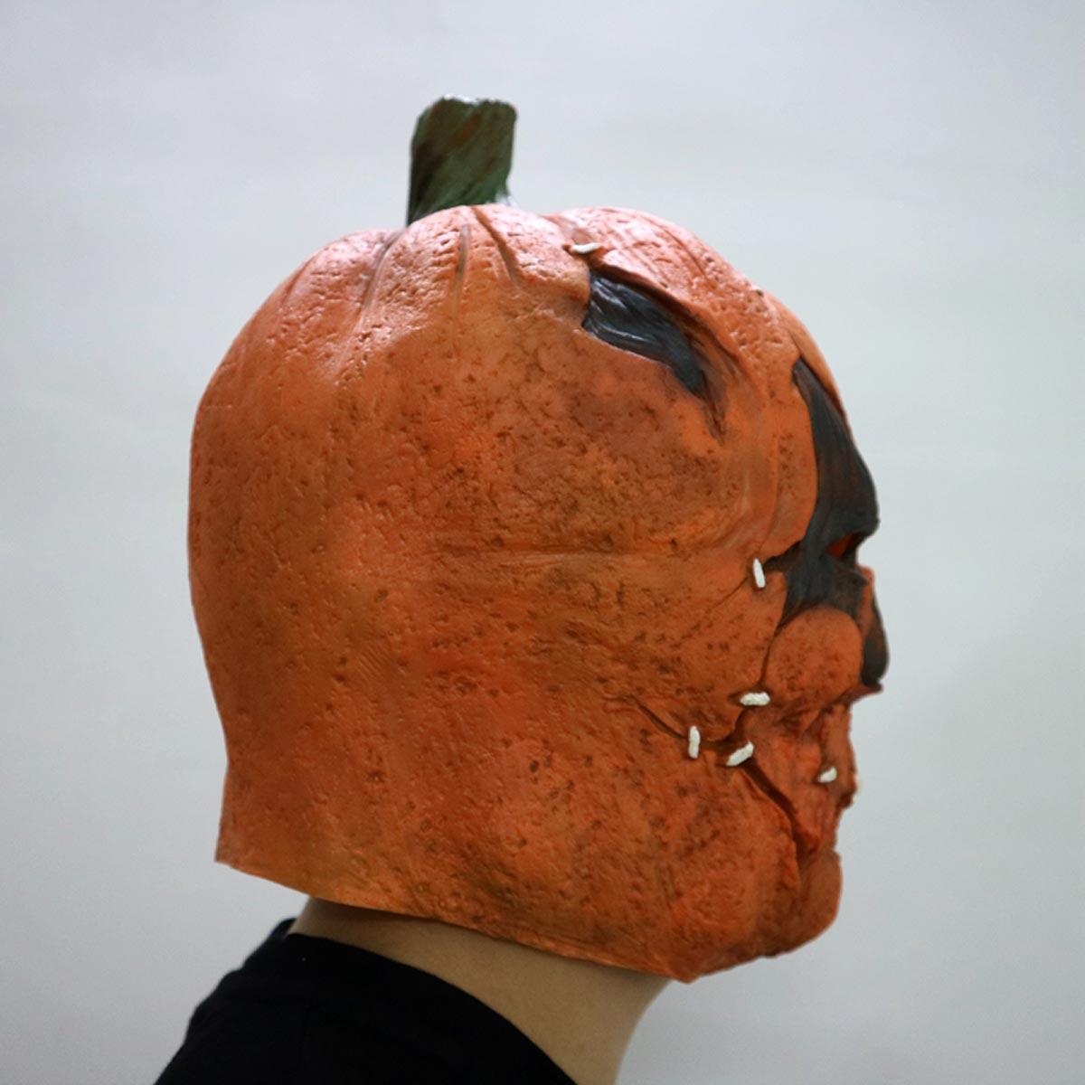 Horror Latex Ghost Pumpkin Mask Funny Full Face Cosplay