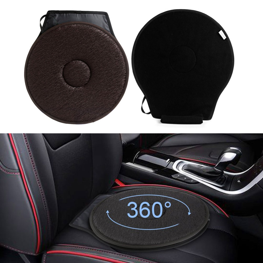 Memory Foam Rotating Swivel Cushion Chair Mobility Aid Home Car Office For Seat