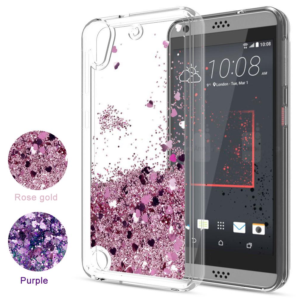 new product c6bb0 a9381 Details about For HTC U11 U12 Plus 650 530 Case Liquid Glitter Quicksand  Clear Soft TPU Cover