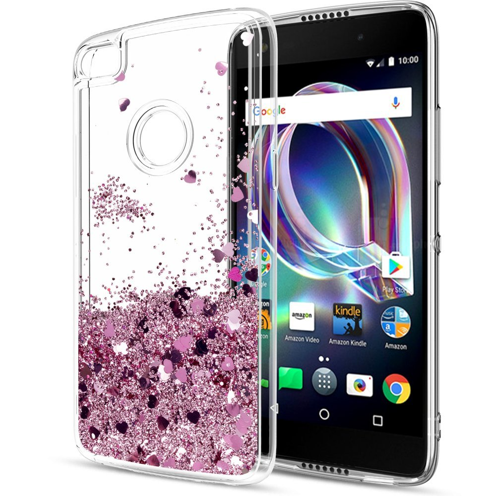 For OnePlus 6T / 6 / 5T / 5 Case Glitter Liquid Moving