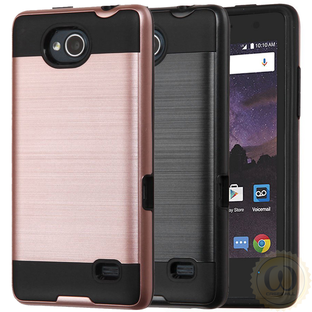 best service 643a7 c71e4 Details about For ZTE Majesty Pro Z799VL Case Ultra Thin Brushed Shockprof  Protective Cover