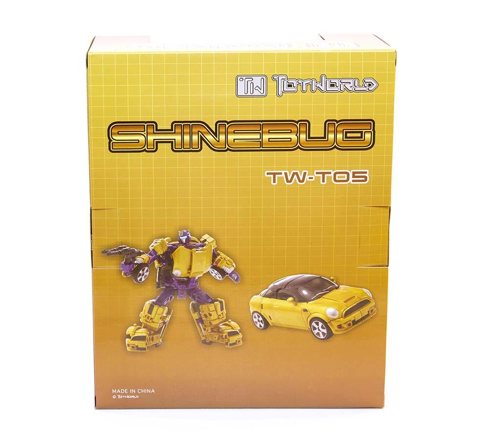 New ToyWorld toys TW-T05 Shinebug Goldbug TW Transformers Robots toys
