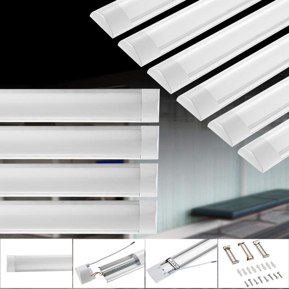 10x 60cm led r hre tube leuchtstofflampe licht leiste deckenleuchte neutralwei ebay. Black Bedroom Furniture Sets. Home Design Ideas