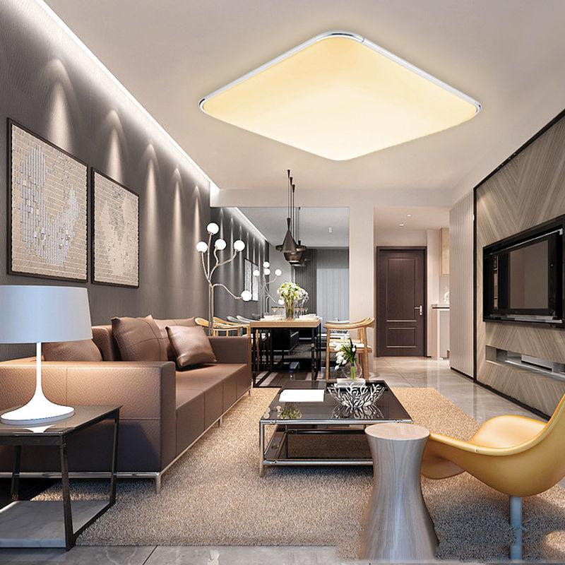16W 96W Dimmbar LED Deckenleuchte Deckenlampe Wohnzimmer