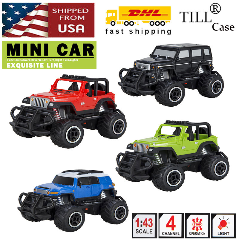 Toys Remote Control Car Electric Off Road Vehicle Rc Truck Toy Suv Xmas Gift