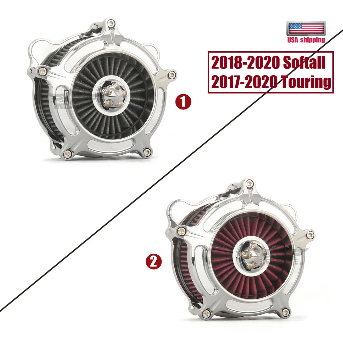 softail air cleaner 2018-2019 Spike turbine air cleaner kits for harley touring FLHR FLHRXS FLHTCU FLHTK FLHX FLTRU FLTRX 2017-2019