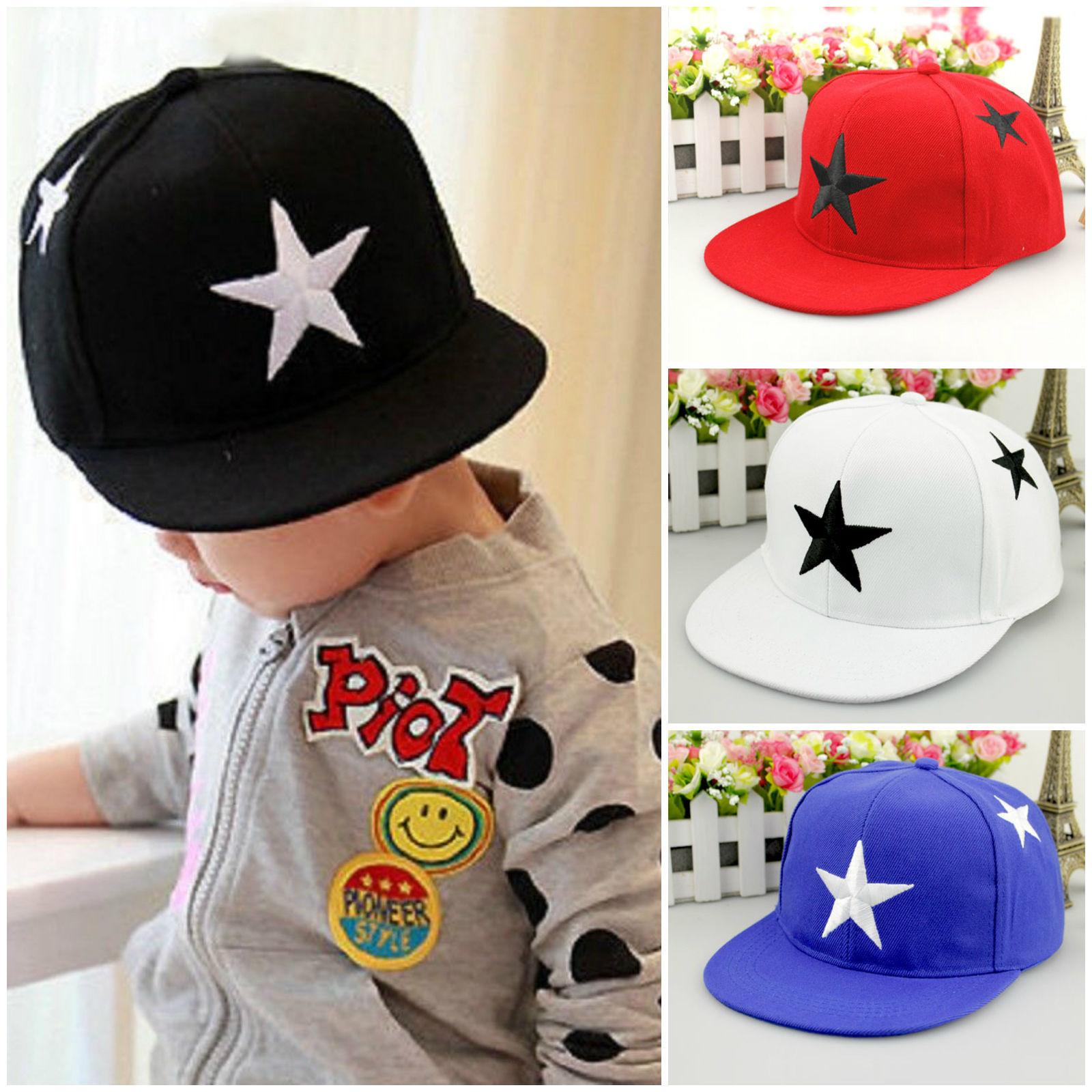 323e1134612 Details about Kids Boys Girls Baseball Cap Hip Hop Snapback Casual Infant Adjustable  Hat Sport