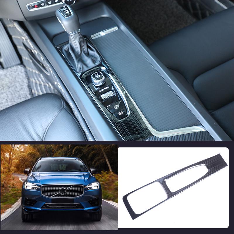 Black Titanium Inner Door Handle Bowl Panel Cover Trim For Volvo XC60 2018 2019