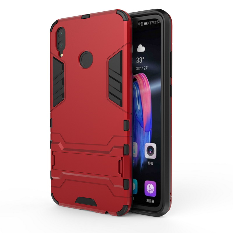 hot sale online 19139 8d49a Details about Slim Shockproof Tough PC Impact Armor Case Cover For Huawei  Honor Play 8X 9 Lite