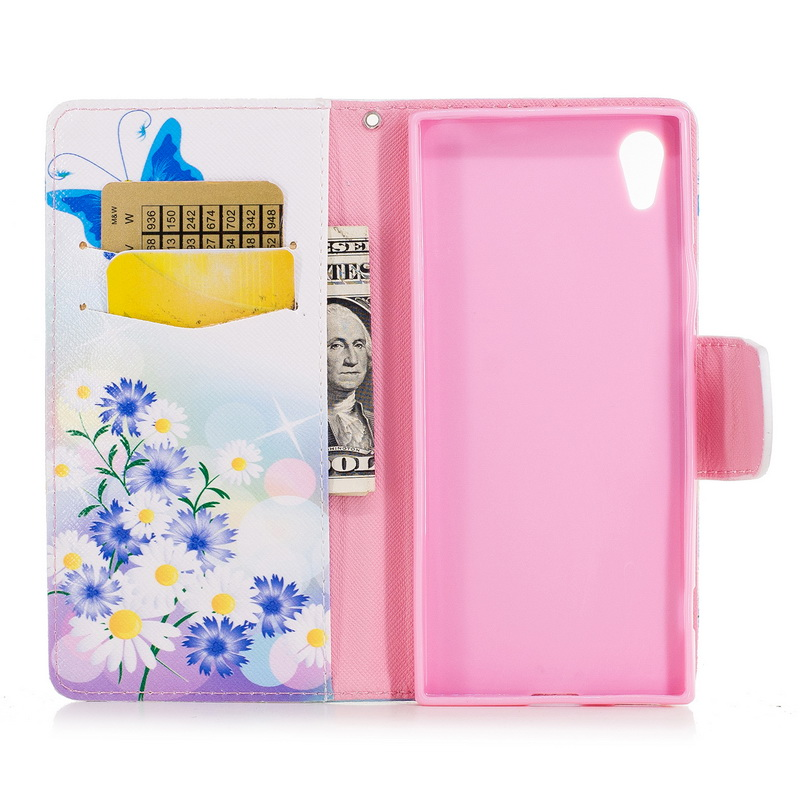 9ae1e51b0 Painted PU Leather Wallet Flip Stand Magnetic Protective Case #1 | eBay