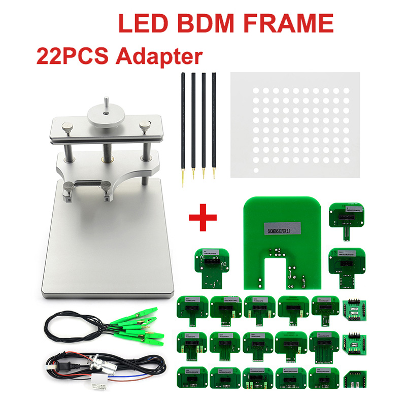 LED BDM Frame ECU RAMP Adapters KTM Dimsport BDM Probe Adapters Full Set