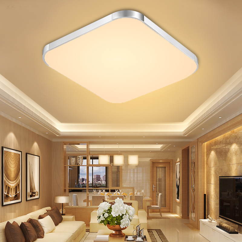 Details About Led Ceiling Down Lights Panel Study Room Bathroom Kitchen Home Lamp Warm White