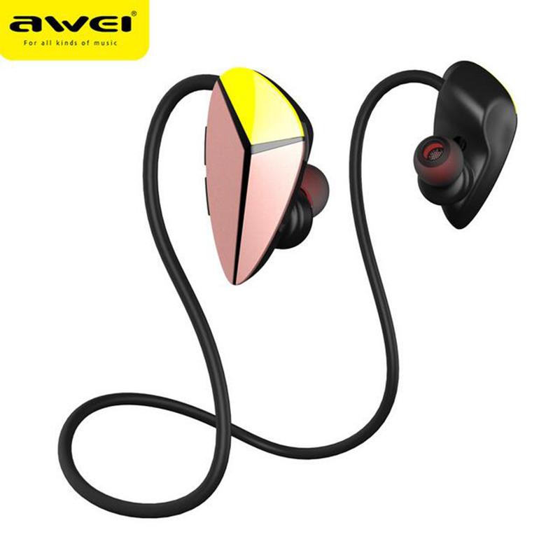 Awei A887BL Sport Wireless Bluetooth In-Ear Earphone Bass