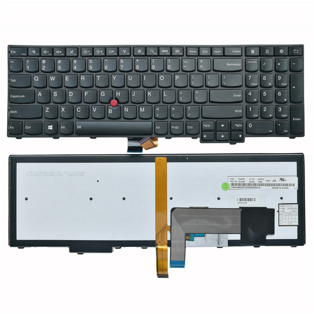 KEYBOARD for IBM THINKPAD NON-BACKLIT T540 T540P W540 E531 L540