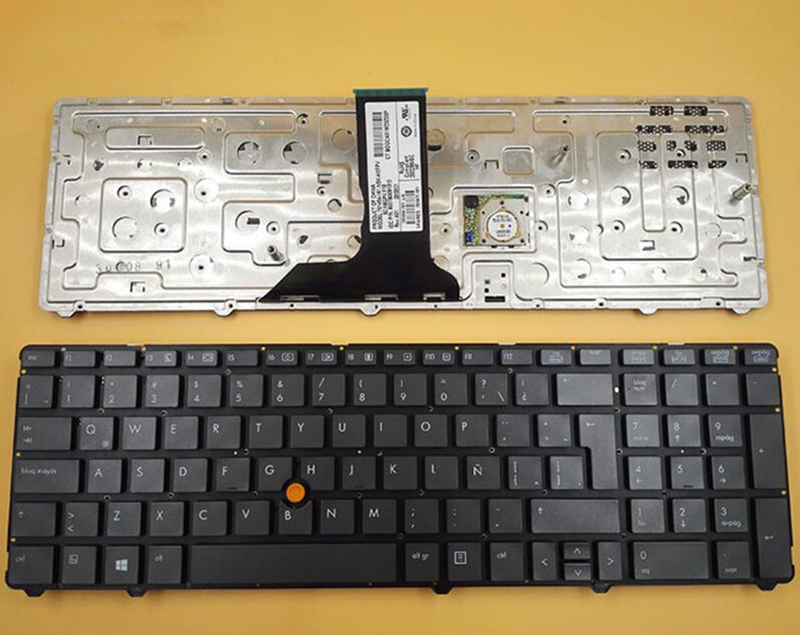 HP Elitebook 8770w w// Point Stick Keyboard 701977-001