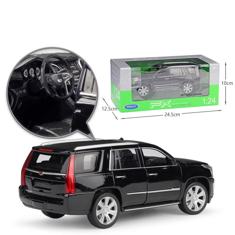 New In Box 1:24 2017 Cadillac ESCALADE SUV Diecast Model