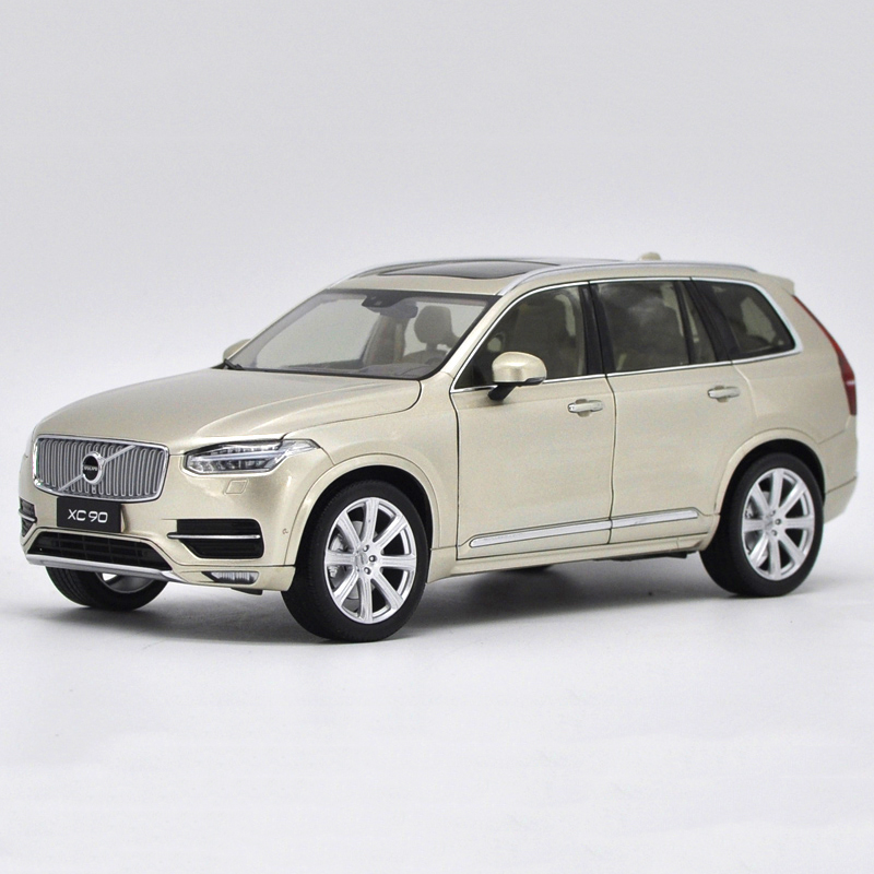Original Car Diecast Model VOLVO XC 90 GOLD SUV In 1:18
