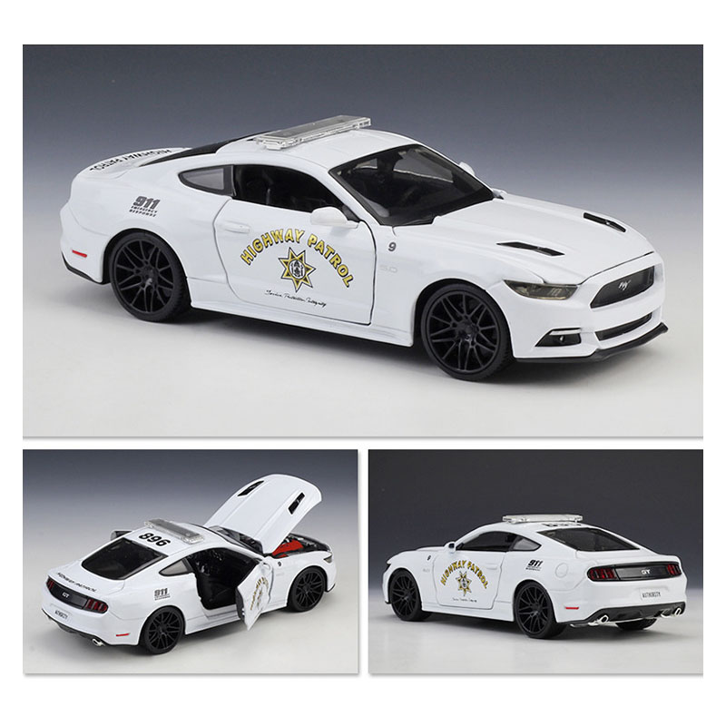 1:24 Modified 2015 Ford Mustang GT Police Racing Vehicle