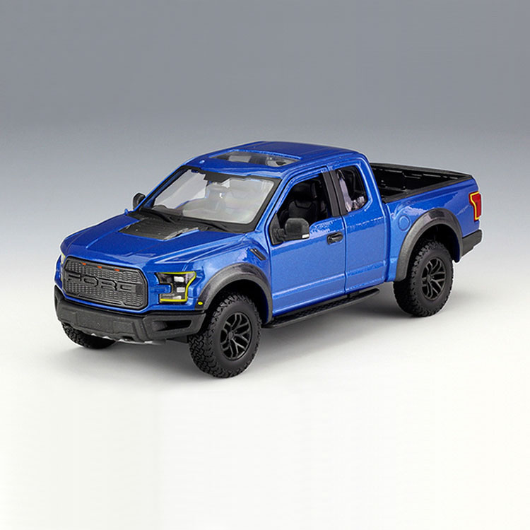Ford Raptor 2017 Blue 1:24 Model MAISTO
