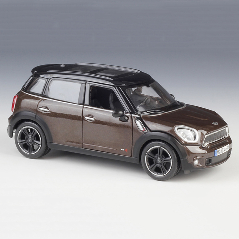 Mini Cooper Models >> Details About 1 24 Scale Car Models Bmw Mini Cooper S Countryman Diecast Alloy Model Toy Gift