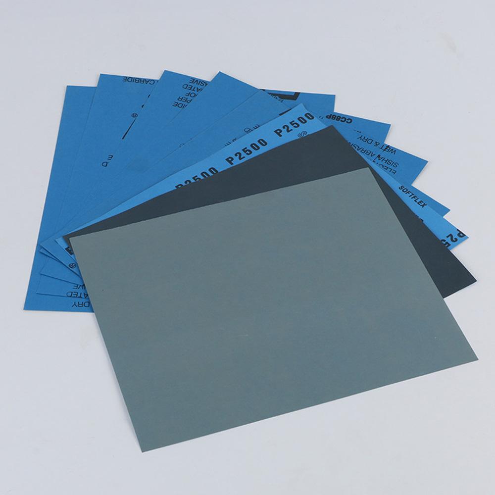Details About 150 8000 Grit Dry Wet Sandpaper Abrasive Sanding Paper Sheets Diy Car Paint