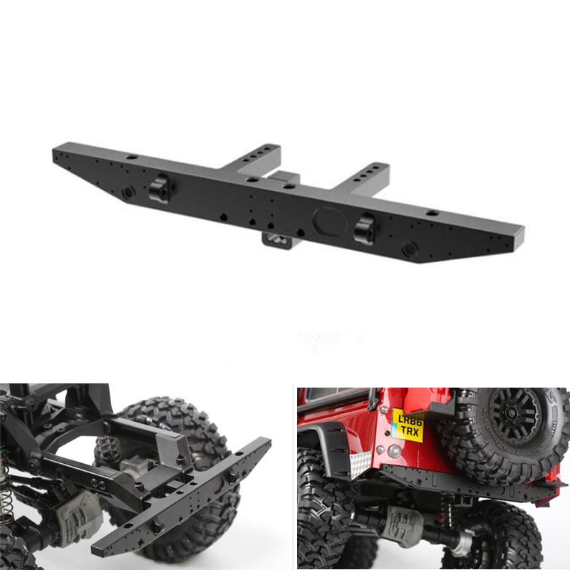 Metal Front Rear Bumper Accessory Set For 1:10 RC Car Crawler Traxxas TRX-4 TRX4