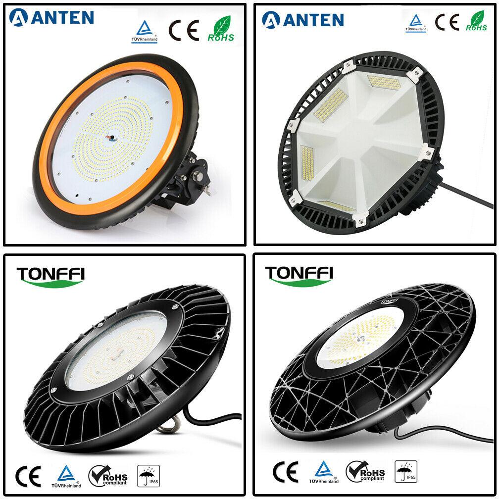 150W LED Hallenbeleuchtung Highbay Hallenstrahler Deckenleuchte Strahler 6000K