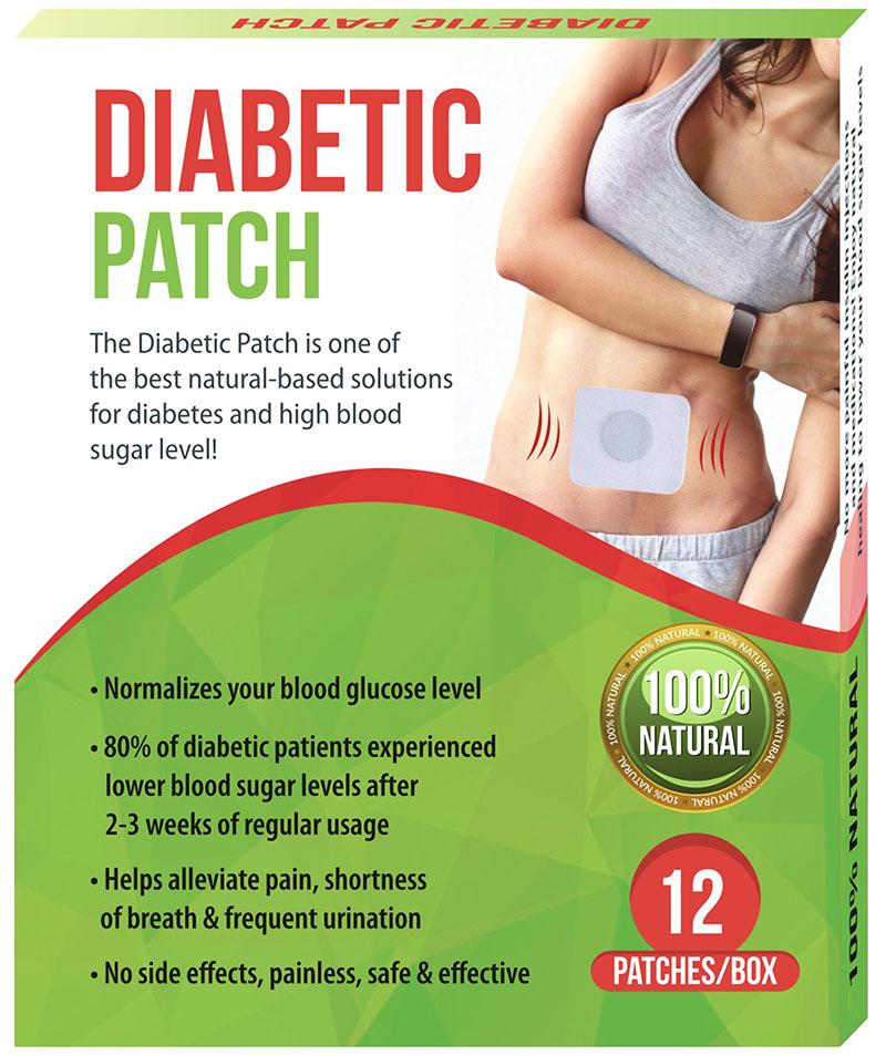 48pcs 4box Diabetic Patch Stabilizes Blood Sugar Balance Glucose