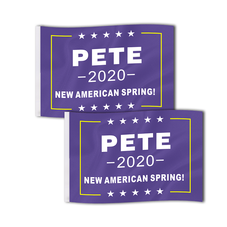 Pete 2020 Buttigieg StickerS Officially Licensed Blue /& Yellow 2