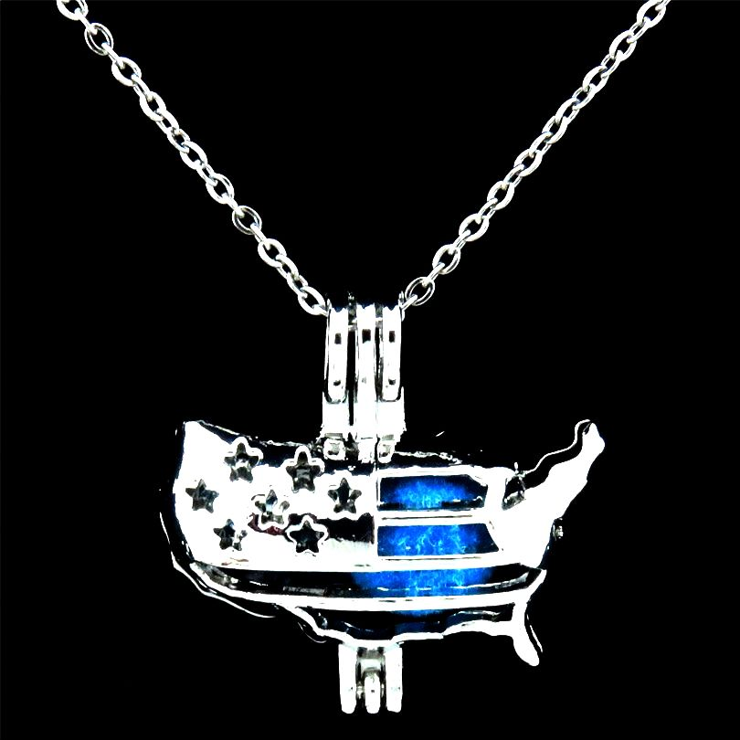flag necklace american products necklaces therobred tag dog