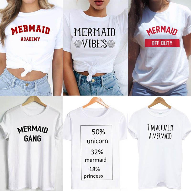 I Can/'t Run I/'m A Mermaid Mens Funny Unisex T-Shirt