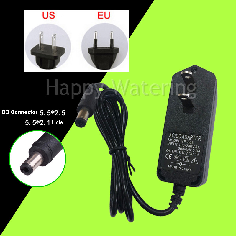 Details about 12V 1A Switch Power Supply Switching Driver DC AC Adapter  Voltage Transformer