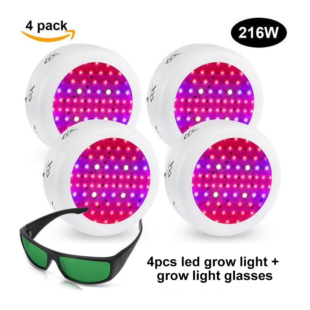 216W UFO LED Grow Pflanzen Lampe Blüte Wuchs Licht Hydr;oder led ...