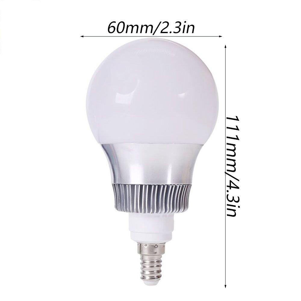 5W 10W E14 E27 RGB LED Light Bulb 16 Color Changing Smart