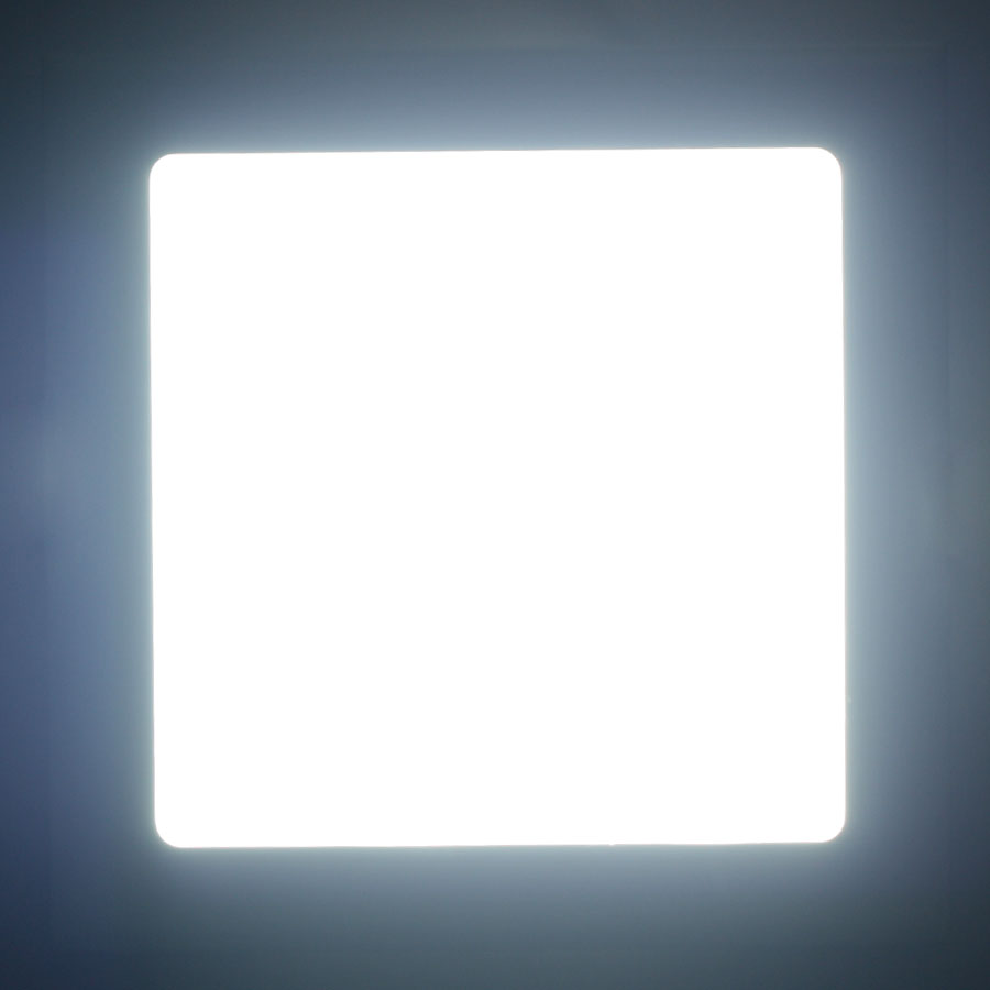 6W-21W LED Recessed Lighting Panel Ultraslim Round Square Ceiling Downlights New