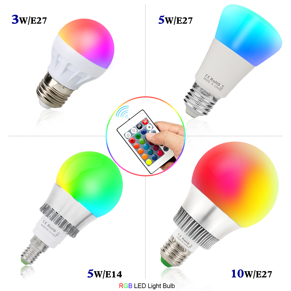 Das Bild Wird Geladen 3W 5W 10W LED RGB Mit Fernbedienung Leuchte