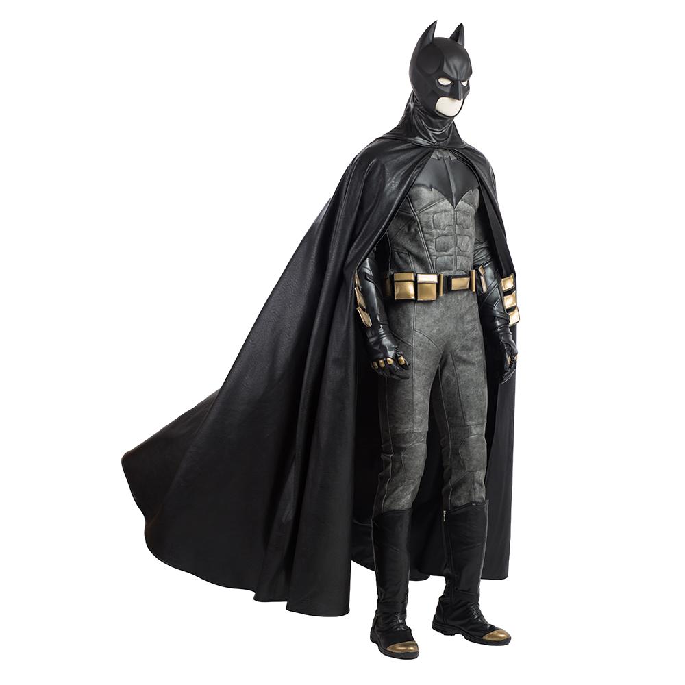 Justice League Cosplay Batman Bruce Wayne Leather Gloves Halloween Prop Gift COS