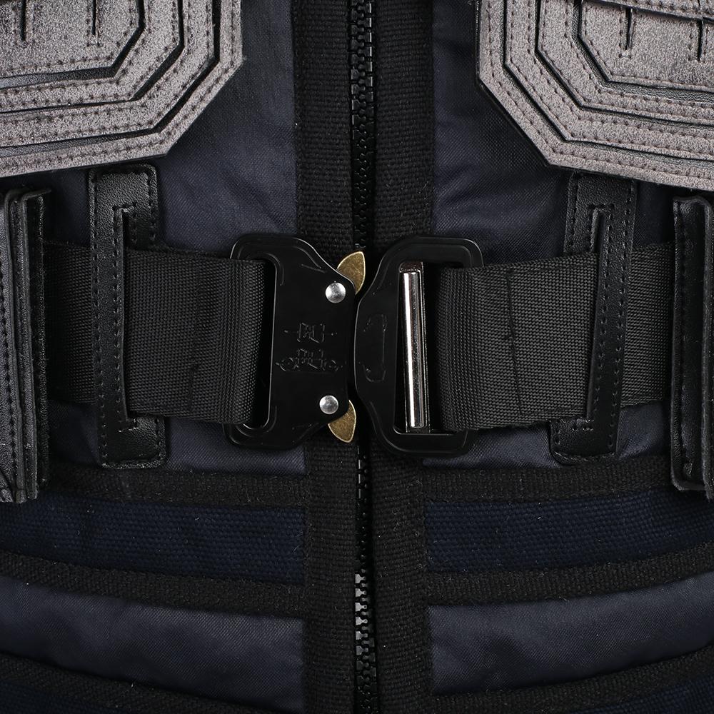Hzym Black Panther Erik Killmonger Cosplay Costume Vest And Armor