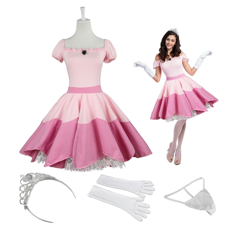 Princess peach sexy costume