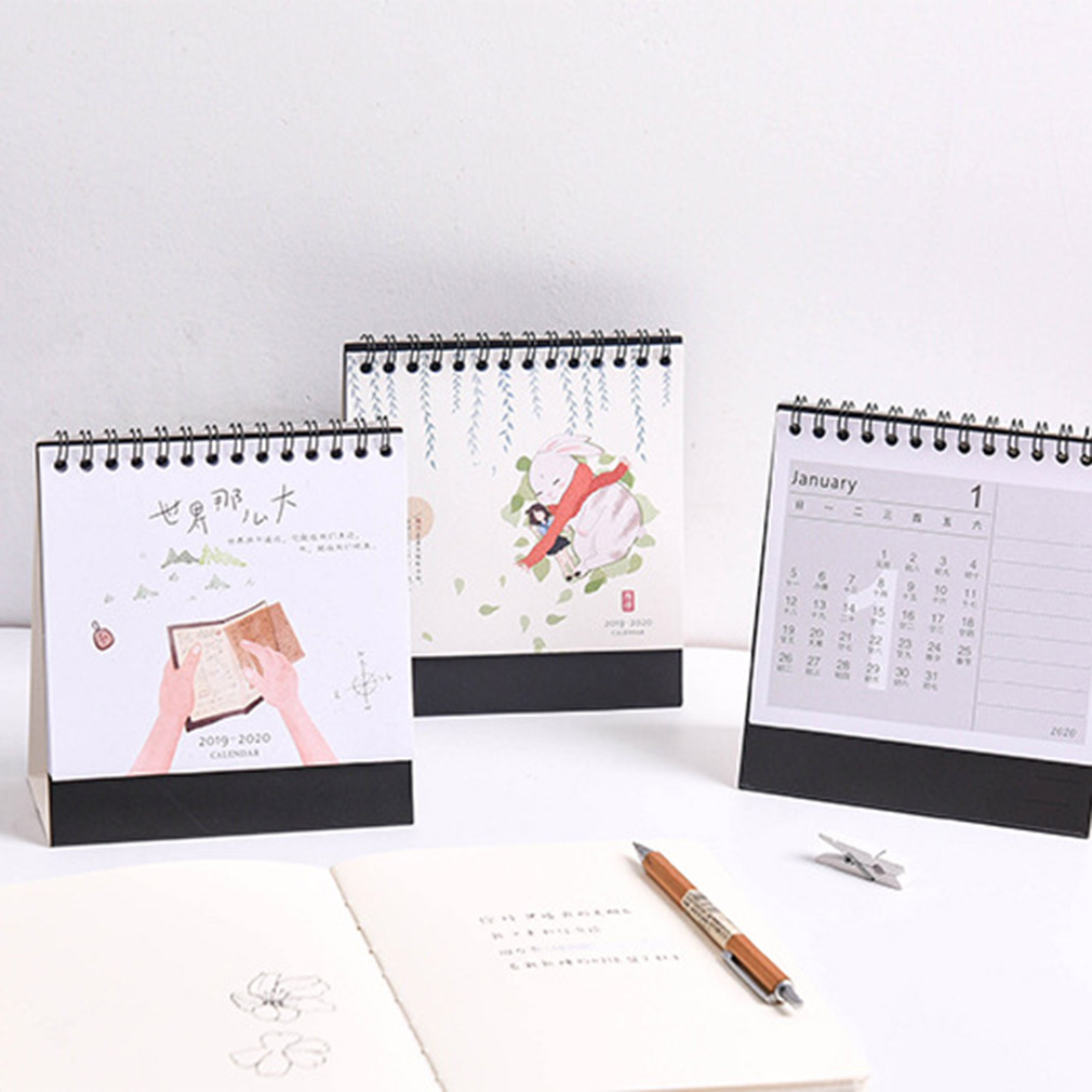 Stobok 2020 Desk Calendar Small Desktop