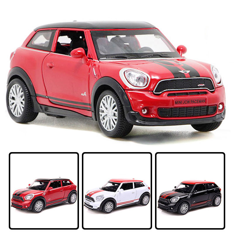 NEW 1//60 MINI Couper JCW Model Car Toy Metal Diecast Vehicles Kids Gift Collect