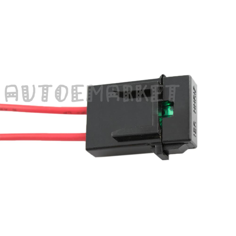 12v 40a Led Work Fog Led Car Bar Wiring Harness Kit On  Off