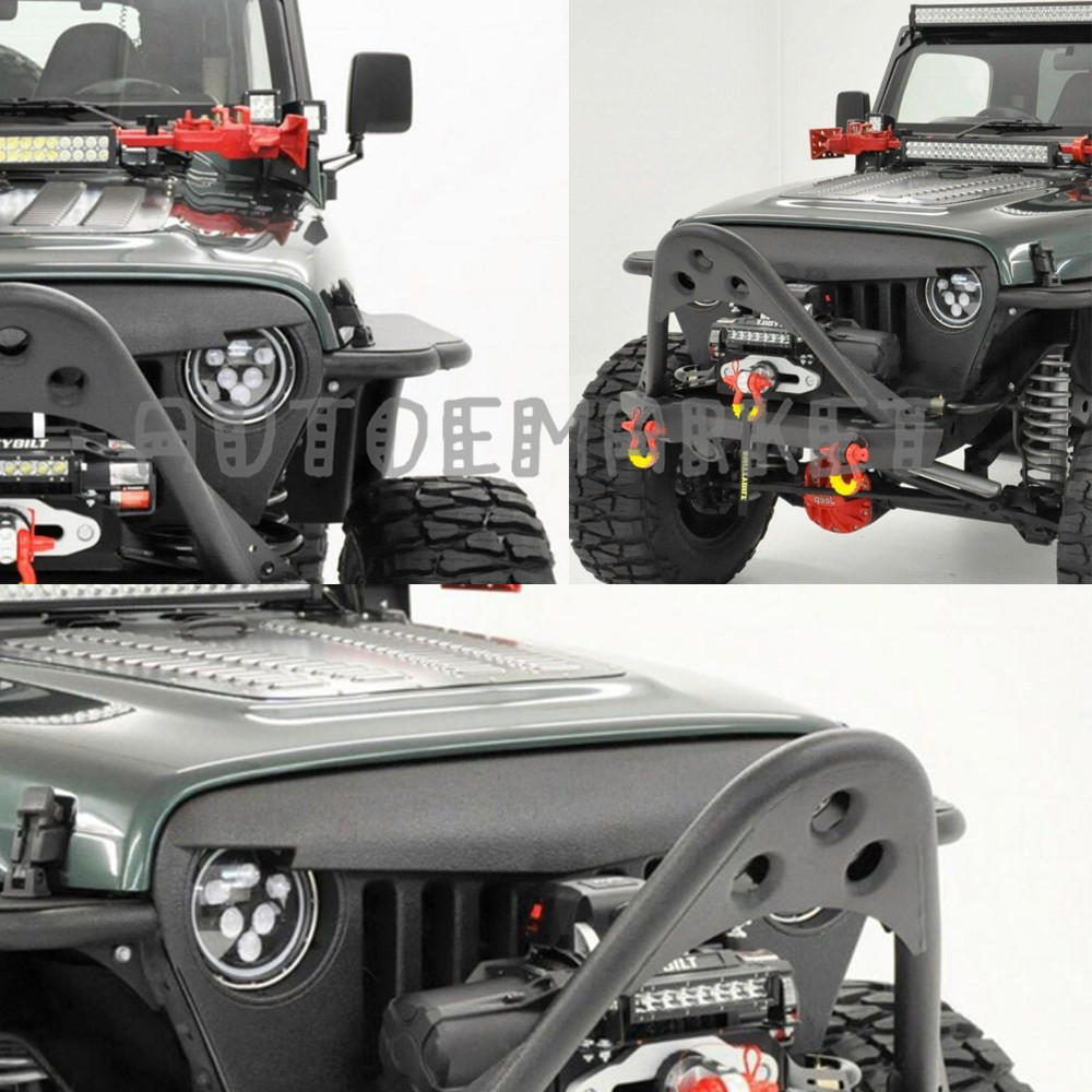angry bird front matte grill grille black abs for 1997-2006 jeep