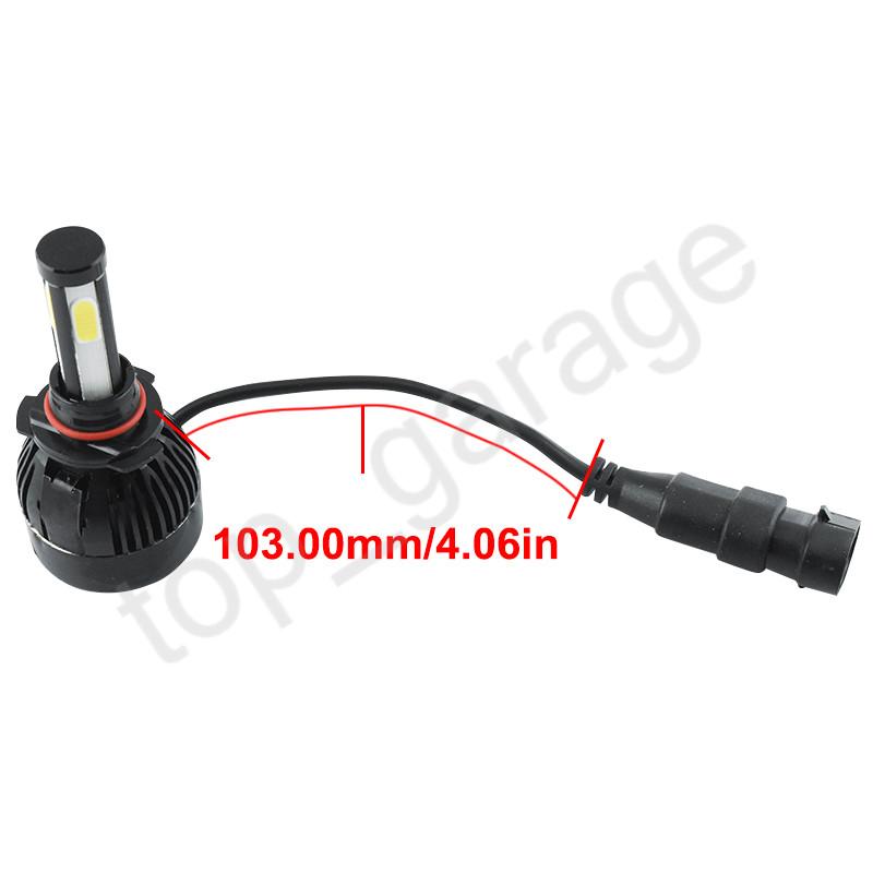 9005 9006 Led Headlight For Gmc Sierra 1500 2500 Hd Yukon