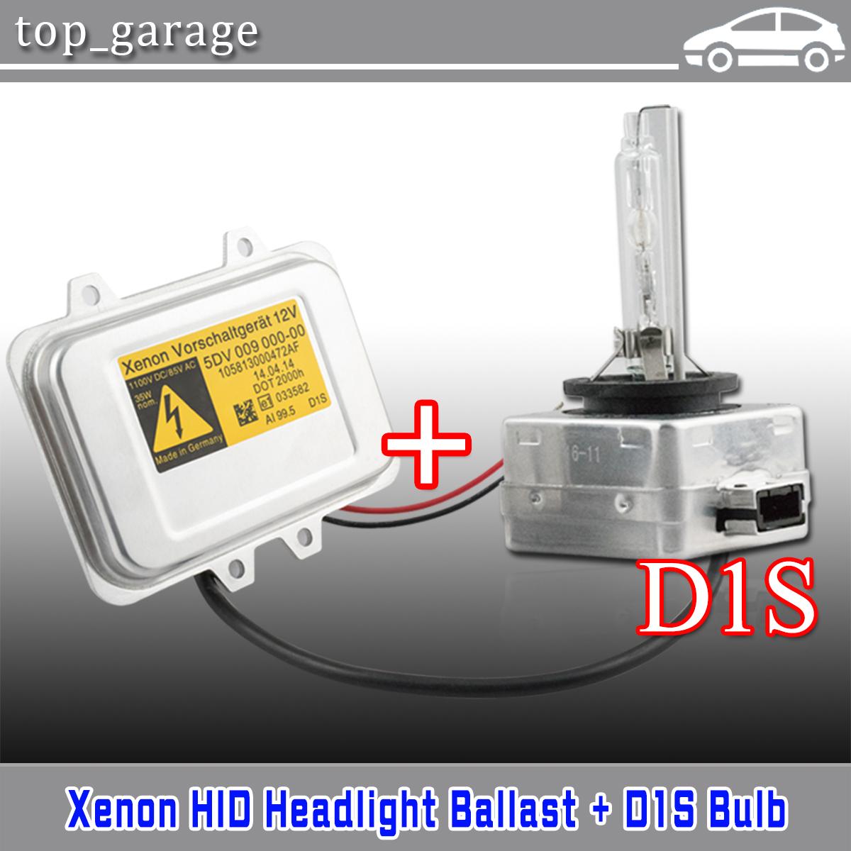 New Xenon Ballast /& D1S Bulb Kit For 2008-2014 Chrysler Town /& Country 15782392