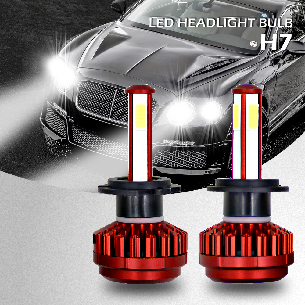 Details about H7 LED Headlight for Mercedes Benz C180 C200 C250 C300  2014-2016 High Low Beam
